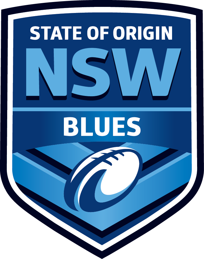 Nrl Nsw State Origin Blues Slipper Kids Size 5 6